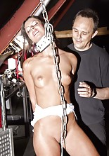 A bdsm audition always wins in taming a stubborn slave girl. There is space only for restraining,..